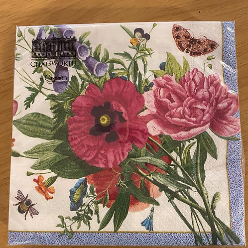 Luncheon Napkins - Spring Flowers