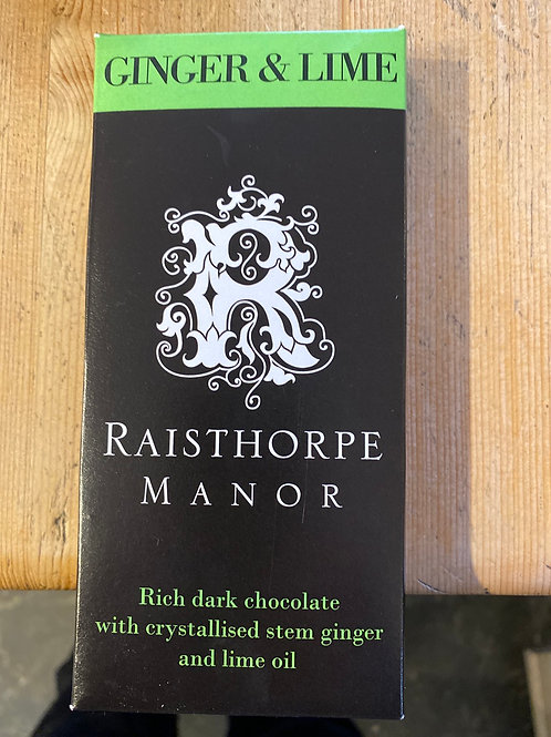 Raisthorpe Manor Chocolate