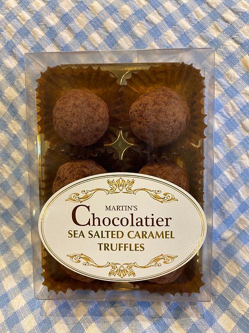 Martin's Chocolatier Sea Salted Caramel Truffles