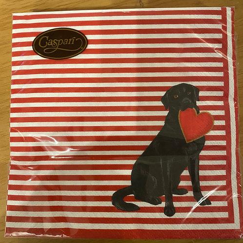 Luncheon Napkins - Labrador Love