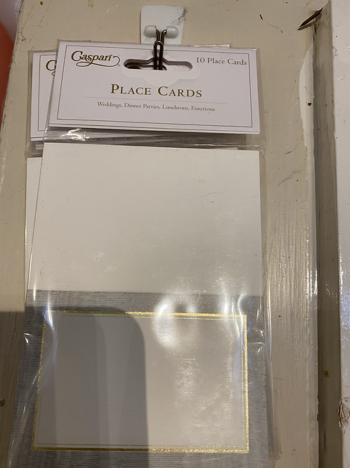 Place cards, 8 pack