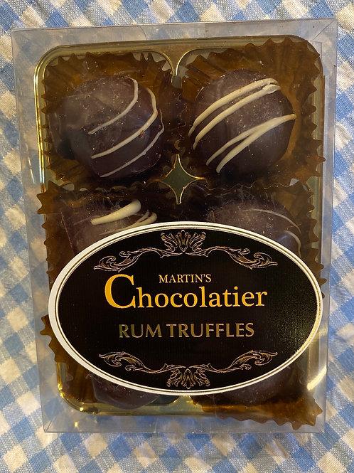 Martin's Chocolatier Rum Truffles