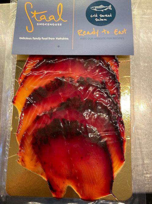 Beetroot Smoked Salmon