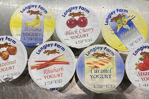 Longley Farm Yoghurts - various flavours