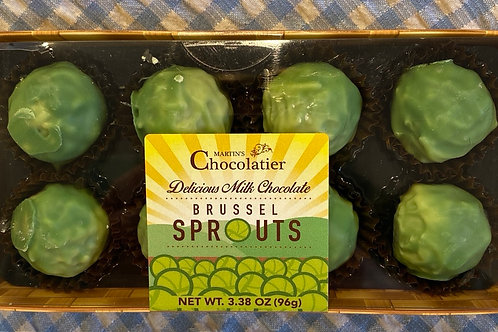 Martin's Chocolatier Milk Chocolate Brussel Sprouts