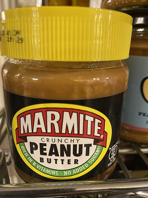 Crunchy Peanut Butter with Marmite