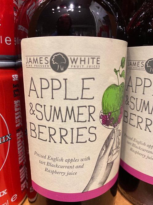Apple Juice with summer berries, 250ml