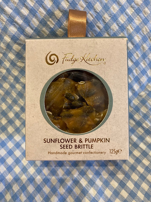 Fudge Kitchen Sunflower and Pumpkin Seed Brittle