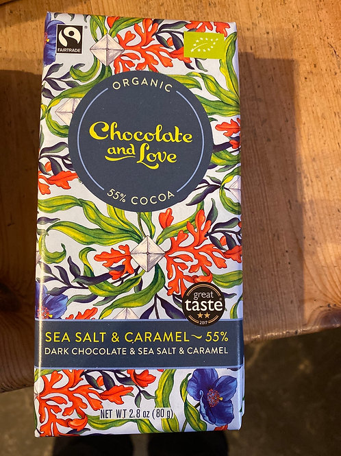 Chocolate & Love - seasalt & caramel
