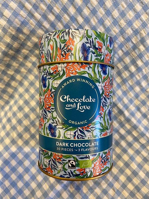 Chocolate and Love Dark Chocolates