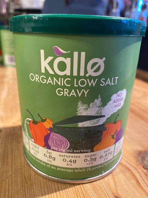 Low Salt Veggie Gravy