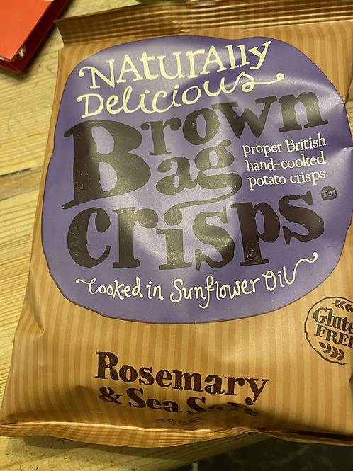 Rosemary & Seasalt Crisps, 40g