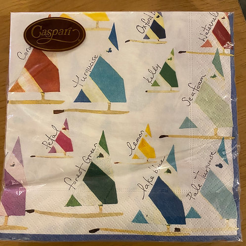 Luncheon Napkins - Sailing Boats