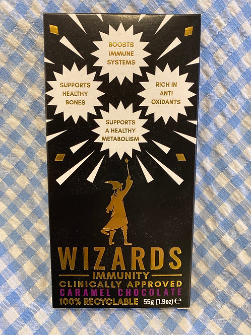 Wizards Immunity Caramel Chocolate