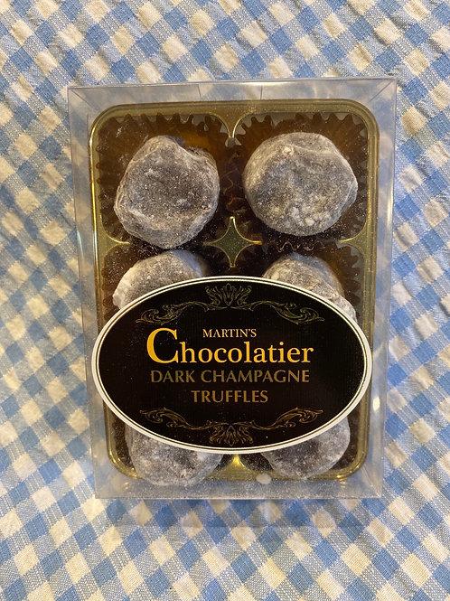 Martin's Chocolatier Dark Champagne Truffles