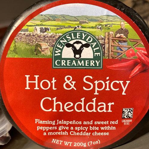 Hot & Spicy Cheddar