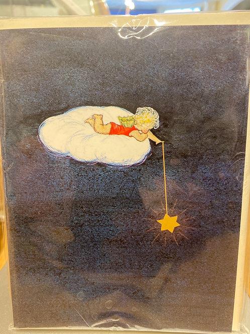 Angel Christmas Card, 5 pack