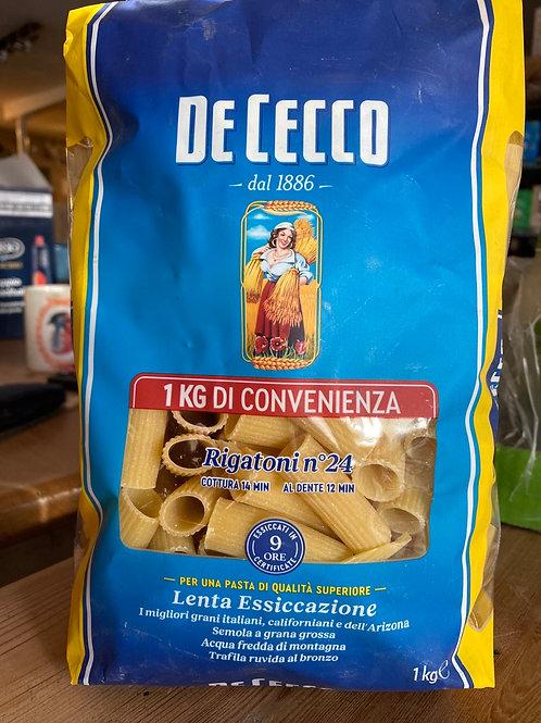 De Cecco Pasta Rigatoni, 1kg