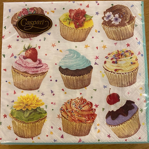 Luncheon Napkins - Cup cake