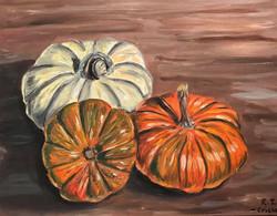 """""""Pumpkin Trio"""""""