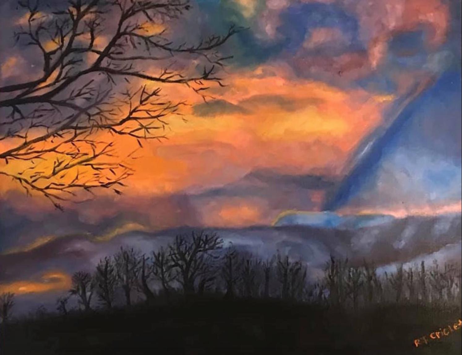 """""""Cascade Sunset"""""""