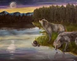 """Moonset"""