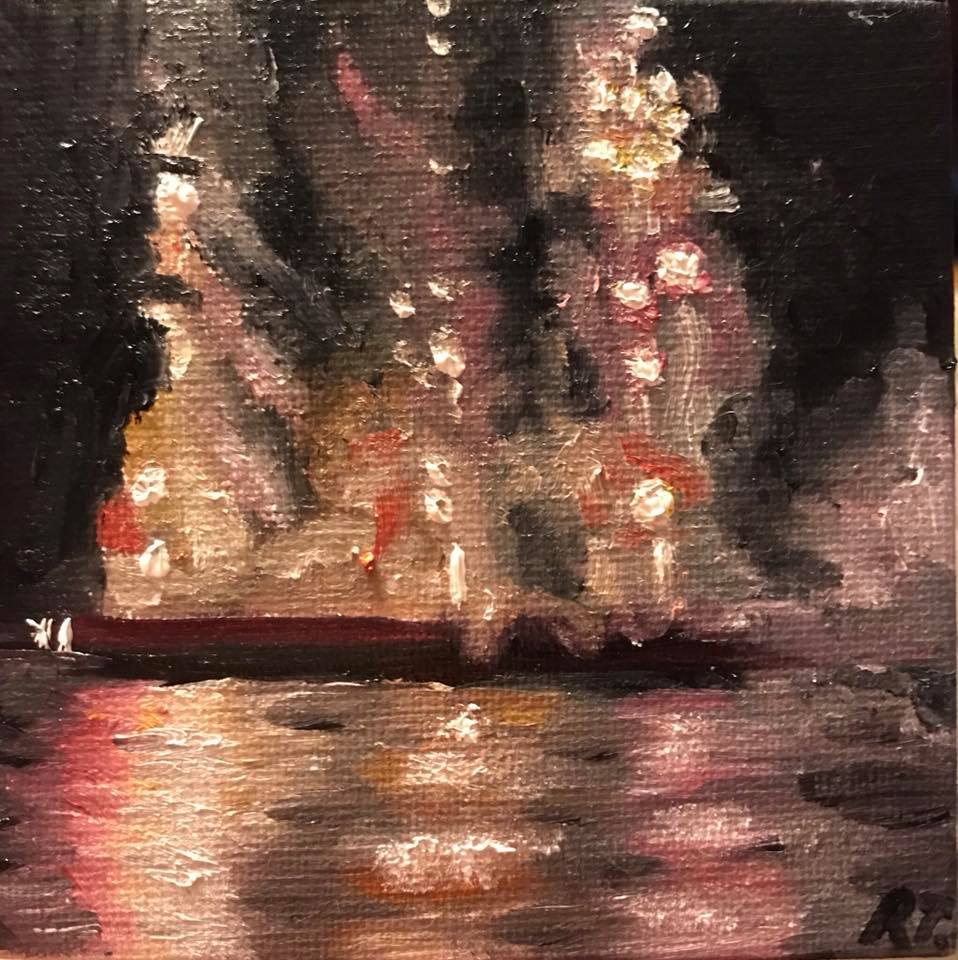 """Fireworks on the River"""