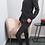 Thumbnail: Huispak zwart met glitter boord