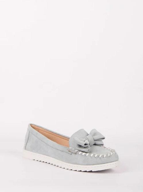 Schoen met strikje ciel