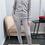 Thumbnail: Huispak grijs met glitter boord