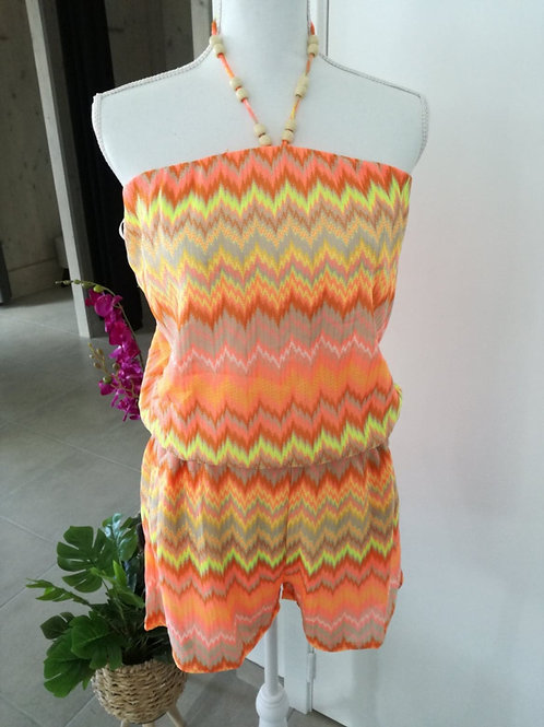 Playsuit K Design flashy orange