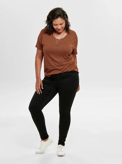 ONLY Black high waist jeans