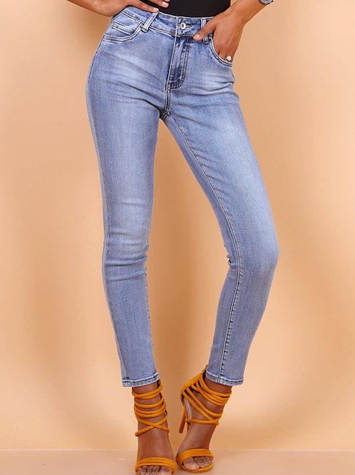 TOXIK regular waist light jeans