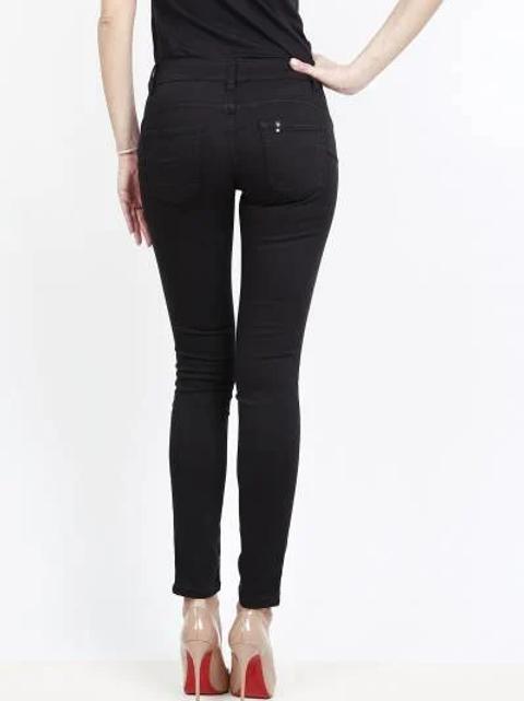 TOXIK regular waist push up black
