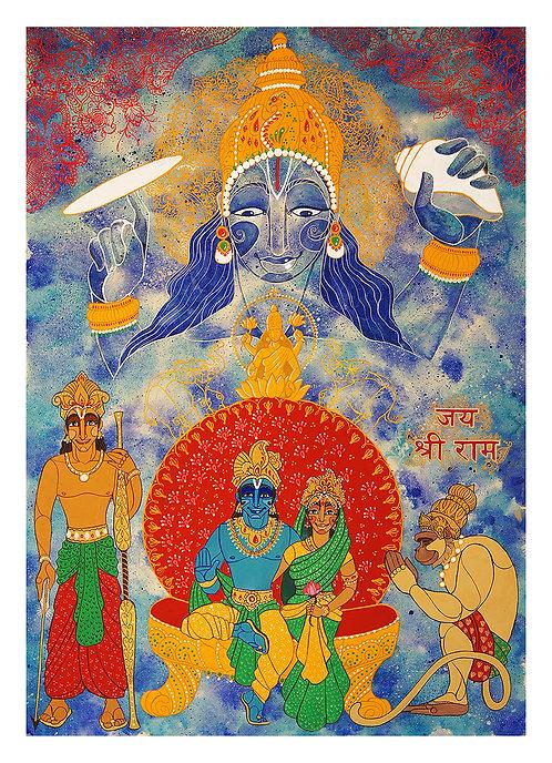 Jai Shri Raam (Fine Art Print)