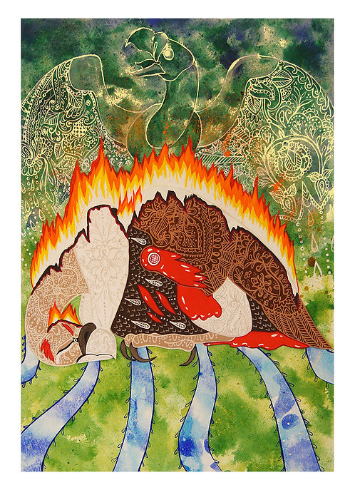 Jatayu is Granted Moksha