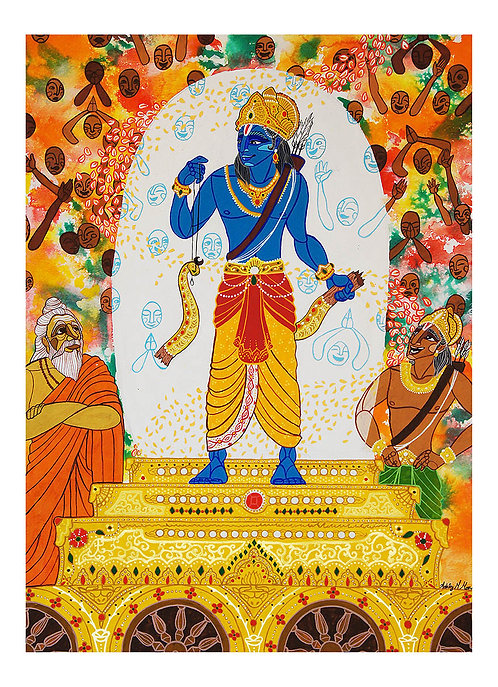 Breaking Shiva's Bow (Fine Art Print)