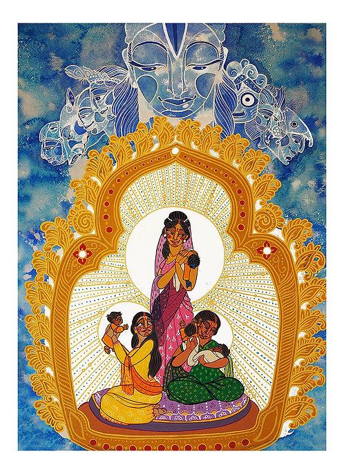 Three Mothers (Fine Art Print)