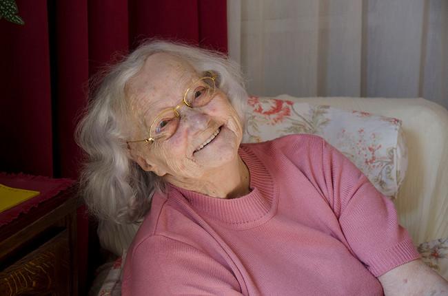 Lulu, portrait d'une centenaire