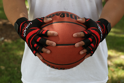 Tiger Red Touch Glove