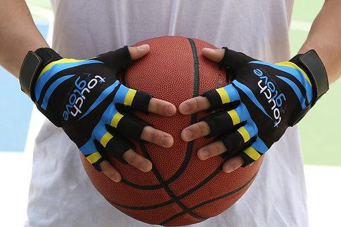Blue Hurricane Touch Glove