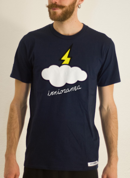 t-shirt ignorante navy