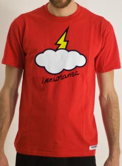 t-shirt ignorante rossa