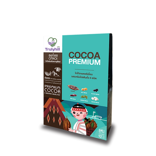 Trulyhill Cocoa โกโก้พร้อมดื่ม - 12 ซอง