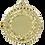 Thumbnail: Gullmedalje 20 cm