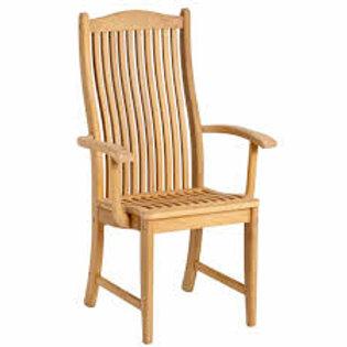 fauteuil haut en roble