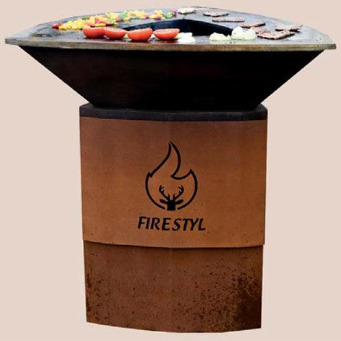 Firetyl 80 Autentik avec grille offerte