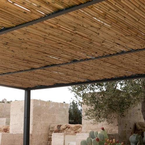 Couverture en canne de bambou pour shibuya
