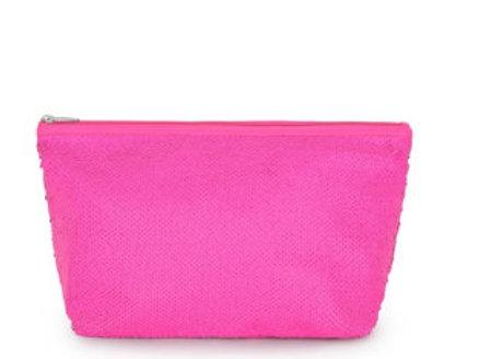 Bolsa pequena Kaos Shock Sequins Rosa Fluorescente