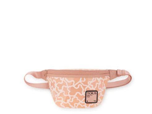 Bolsa de cintura TOUS Rubber rosa